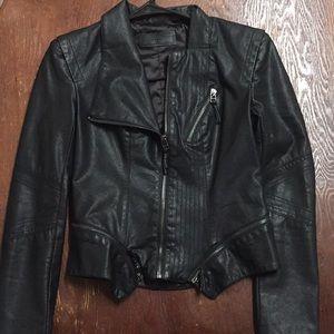 BlancNYC Faux Leather Jacket